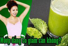Uống nước mướp đắng có giảm cân không