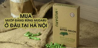 Mua MUDARU ở đâu tại Hà Nội